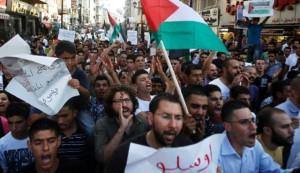 Palestinske demonstracije na Zapadnoj obali (pod kontrolom Izraela)